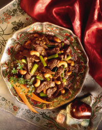 Beef with Cashews
