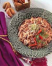 Vermicelli with Minced Pork