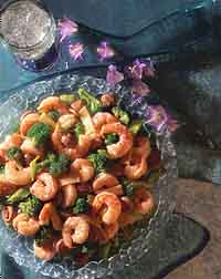 Braised Shrimp with Vegetables