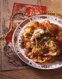 Shrimp Omelets