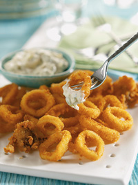 Fried Calamari with Tartar Sauce