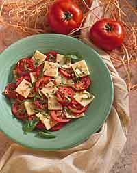 Tomato, Mozzarella & Basil Salad