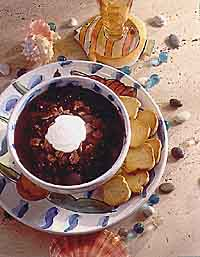 Picante Black Bean Soup