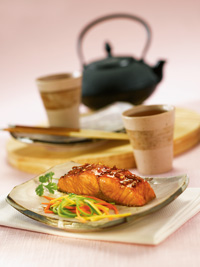 Grilled Chinese Salmon