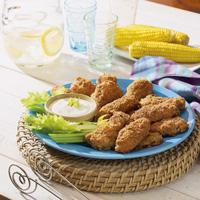 Garlicky Gilroy Chicken Wings