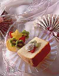 Golden Chiffon Cake
