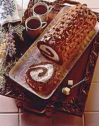 Elegant Chocolate Cake Roll
