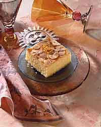 Refreshing Orange-Almond Cake