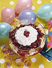 Punch Bowl Party Cake