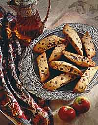 Chocolate Chip Almond Biscotti