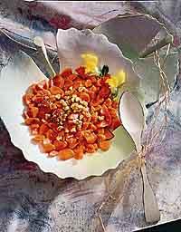 Nutmeg & Honey Carrot Crescents