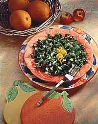 Smoky Kale Chiffonade