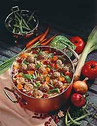 Italian-Style Meatball Soup