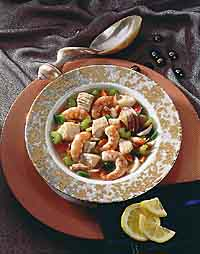 Elegant Fish and Seafood Stew