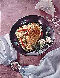 Chinese Skillet Chicken and Rice