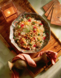 Singapore Rice Salad