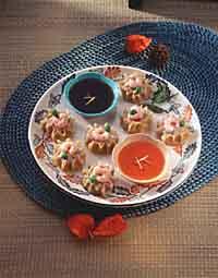 Steamed Pork and Shrimp Dumplings (Siu Mai)