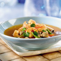 Spicy Thai Shrimp Soup