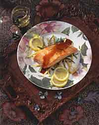 Seared Salmon Teriyaki