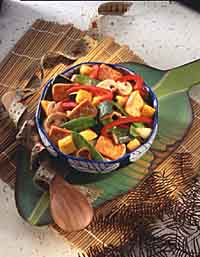 Stir-Fried Tofu and Vegetables