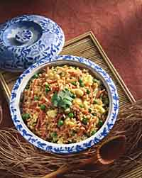 Chinese-Style Fried Brown Rice