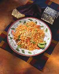 Pad Thai (Thai Fried Noodles)