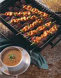 Thai Satay Chicken Skewers