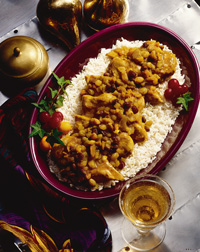 Chicken and Curried Fruit