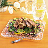 Warm Blackened Tuna Salad
