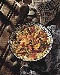 Red Clam Sauce with Vegetables