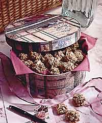 Oatmeal Almond Balls