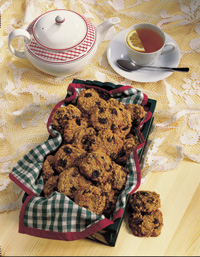 Whole-Wheat Oatmeal Cookies