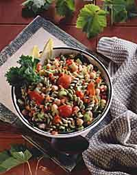 Garbanzo Pasta Salad
