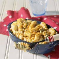 Enlightened Macaroni and Cheese