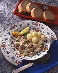 Lamb in Dill Sauce