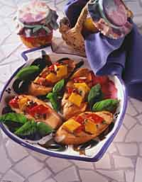 Marinated Roasted Pepper Tapas