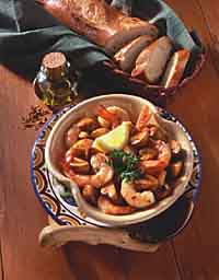 Shrimp Tapas in Sherry Sauce