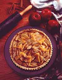 Apple-Cheddar Tart