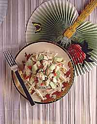 Chinese Crab & Cucumber Salad