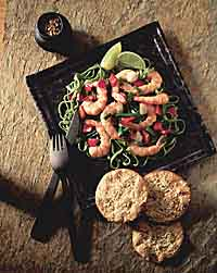 Garlic Shrimp & Vegetables