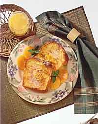 French Toast Eggnog Style