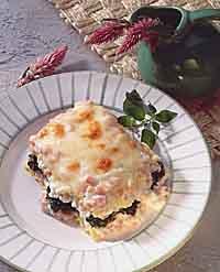 Spinach-Ham Lasagna