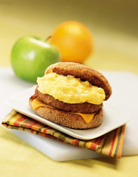 Quick Breakfast Sandwich