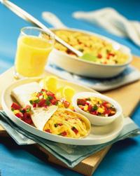 Sunny Day Breakfast Burrito