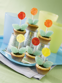 Lollipop Flower Pots