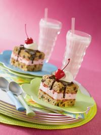 Banana Split Ice Cream Sandwiches