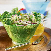 Jicama-Cucumber Salad