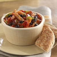 Black Bean Chili with Penne Pasta