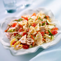 Cool and Crisp Albacore Pasta Salad