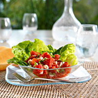 Creamy Tomato and Goat Cheese Salad